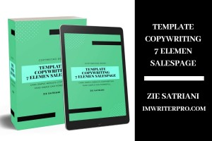 Template Copywriting 7 Elemen Salespage