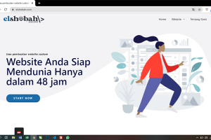 Jasa website Custom - Paket Basic - elshobah developer
