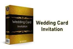 Wedding Card Invitation Paket MRR