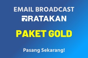 Email Broadcast Paket Gold