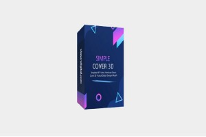 Simple Cover 3D Template By UlasanDigital