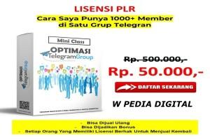 MINI CLASS OPTIMASI TELEGRAM GROUP