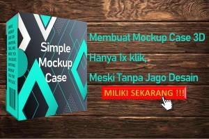 Simple Mockup Case 3D
