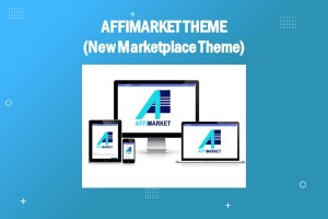 # AFFIMARKET THEME (New Marketplace Theme)