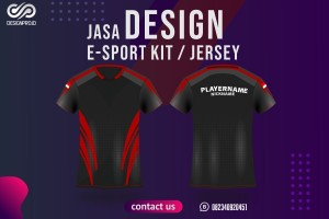 Jasa Design Jersey / Kit e-Sports