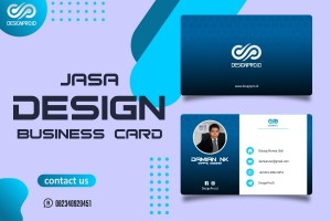 Jasa Design Business Card / Name Card Elegant dan Modern