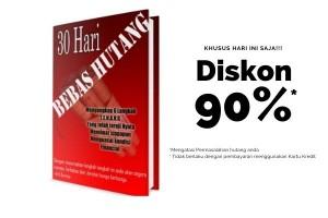 Ebook 30 hari Bebas hutang karya Arli Kurnia