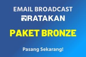 Email Broadcast Paket Bronze