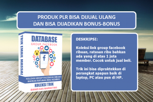 Database Group FB Ribuan Member